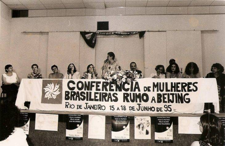 Conferência de Mulheres Brasileiras rumo a Beijing - 1995