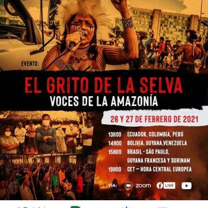 """Grito da Selva, vozes da Amazônia!"""