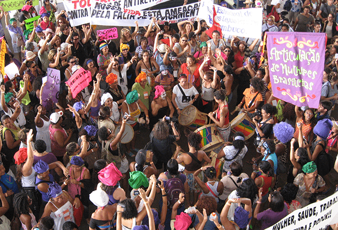 Manifestação AMB