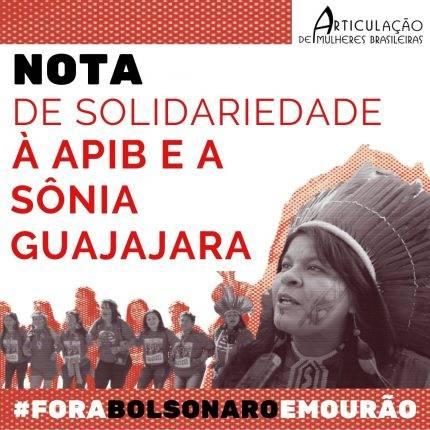 Nota de Apoio à APIB e a Sônia Guajajara (2020)