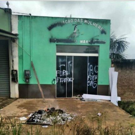 Sede da Associação das Mulheres Munduruku Wakoborûn é atacada e depredada no Pará