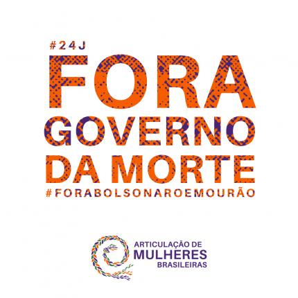 #24j as ruas dizem novamente Fora Bolsonaristas